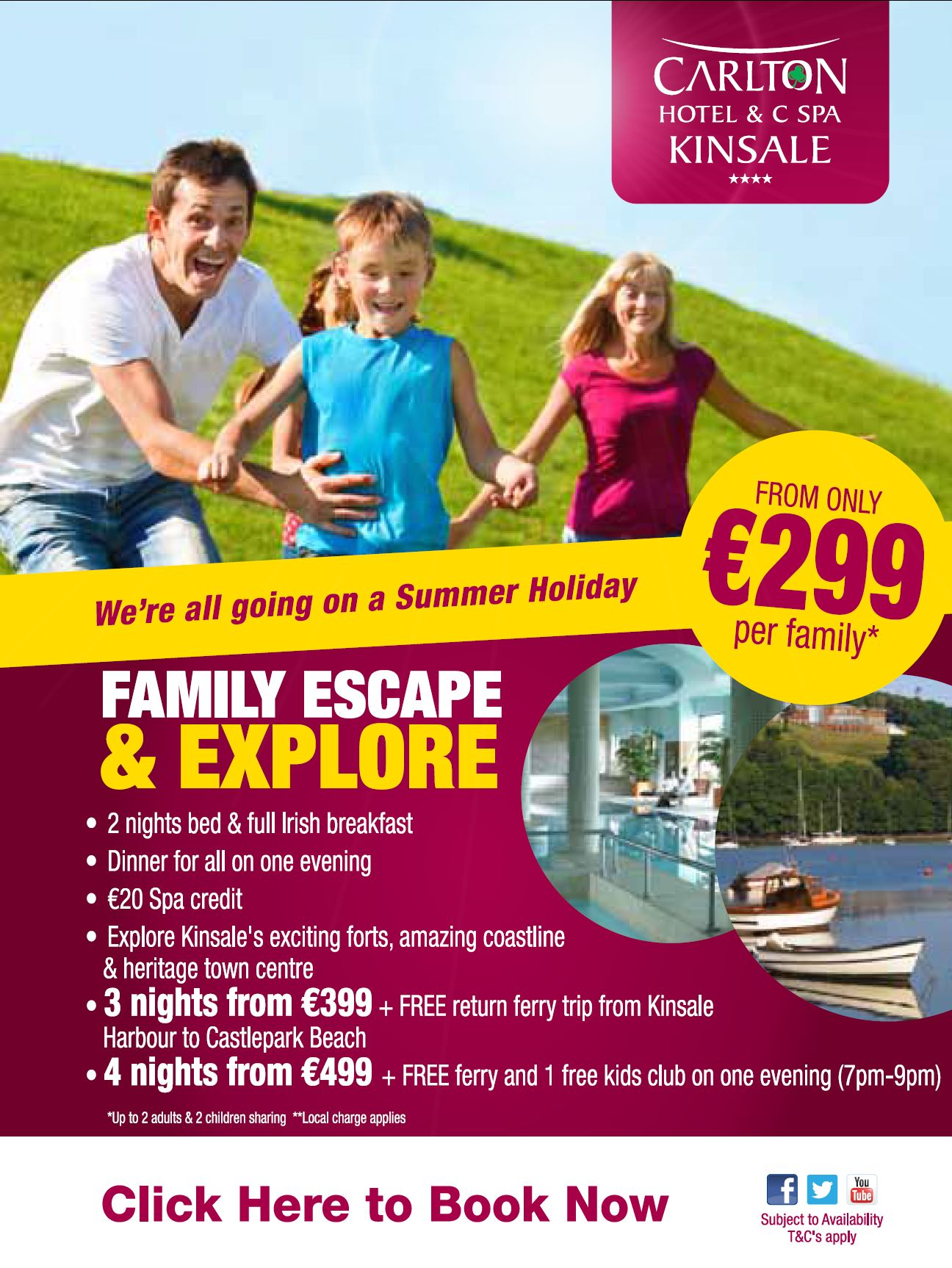 Best Family Package in Cork